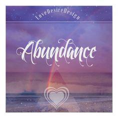 Inspirational Positive Vibes Abundance