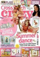 "(1) Gallery.ru / tymannost - Альбом ""Cross Stitch Crazy 166 август 2012 + приложение Free Вest of"""