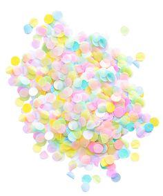 Best Confetti Ever (in Pastel!)
