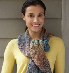 Lion Brand® Homespun® Painted Circle Scarf