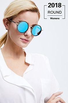 Bluefringe Sunglasses for Men Women Aviator Polarized Metal Mirror UV 400 Lens Protection