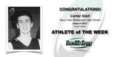 Congratulations to this week's ViewMySport ATHLETE of THE WEEK - CARTER KLATT - Basketball (Guard) - Class of 2017 - Sioux Falls Washington High School (SD)... GREAT JOB CARTER!  https://www.viewmysport.com/r-551-carter-klatt-basketball  ViewMySport.com - Your #1 College Sports Recruiting &  Scholarship Networking Resource!