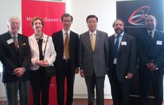 Photo from signing of letter of intent between McGill-Queen's University Press and International Media Partners. Queen's University, Letter Of Intent, Social Activist, Norman, Phoenix, Events, Lettering, 3d, Life