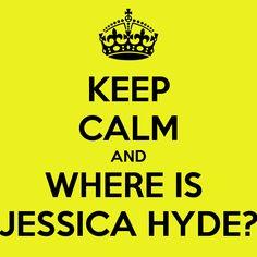 Where Is Jessica Hyde?  #Utopia