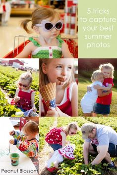 5 tips for capturing your best summer photos from Peanut Blossom. What kind of summer fun are you having today?