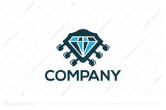 Logo for sale: Stone Sound Logo by SimplePixel, uploaded on Logo design of a diamond shaped like a guitar head. Sound Logo, Diamond Shapes, Logo Design, Entertainment, Events, Stone, Logos, Music, Musica