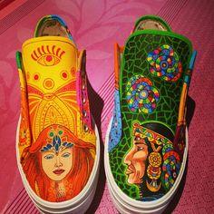 Zapatillas Victoria personalizadas!