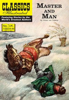 Cover for Classics Illustrated (UK) (Classic Comic Store, 2011 series) #159 - Master and Man