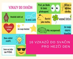 16 vzkazů do svačin pro hezčí den - Kuncicka. Chart, Children, Tips, Inspiration, Kids, Biblical Inspiration, Kid, Kids Part, Inhalation