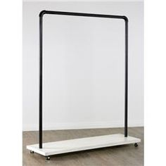 Broadway Collection Clothing Rack (White). AcmeDisplay.com