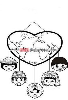 dünya çocukları - Önce Okul Öncesi Ekibi Forum Sitesi - Biz Bu İşi Biliyoruz