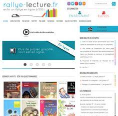 Des rallyes lecture en ligne avec rallye-lecture.fr
