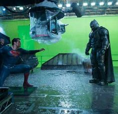 BvS Dawn of Justice CGI Scenes