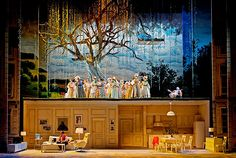 Wagner's Die Feen from Oper Leipzig. Production by Renaud Doucet. Sets and costumes by André Barbe.