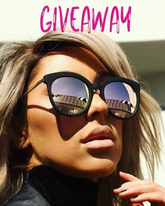 Another Giveaway going on today for Instagram followers! Make sure to like this photo & REPOST this picture! We will be picking the winner Monday!  Good luck!! . . . . . #quay #quayaustralia #giveaway #quaygiveaway #sunnies #sunniesgiveaway #sunglassesgiveaway #trends #trendsetter