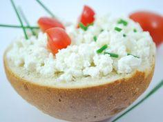 Bomba de queso fresco y tomate. #recetas #5Cook #5ingredientes #cocina
