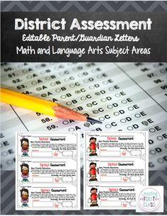 Are you unable to send home district assessments? Do you want to communicate your students' grades to their families? Use this general parent letter to personalize or handwrite the assessment name, student name, and earned grade. These are quick and easy to write up and place in binders or Friday Folders.