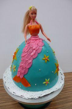 https://flic.kr/p/6gkk5j | Mermaid Barbie Cake