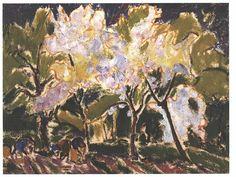 Kirchner - Frühlingslandschaft - Ernst Ludwig Kirchner - Wikimedia Commons