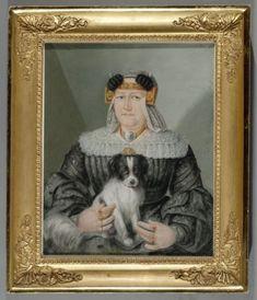 Wie het breed heeft....portret collectie Westfries museum, Hoorn