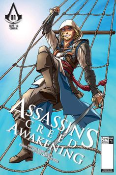 Assassin's Creed: Awakening #1 Cover C - Sonia Leong
