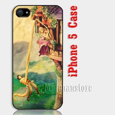 Tangled Disney Custom iPhone 5 Case Cover
