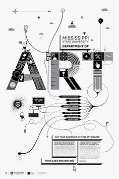 Art Poster #Typography #Type #Lettering #Design