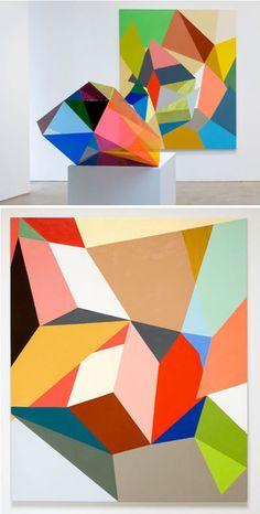 THE DAYLIGHT: Art + Interiors: Multi-faceted [Gemma Smith]