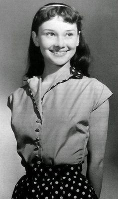 Audrey Hepburn, 13 years old