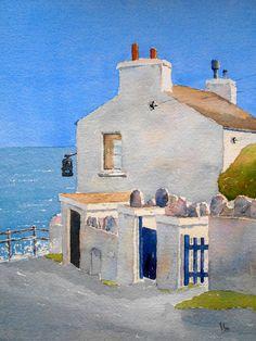 Watercolour Painting (Port Lewaigue)