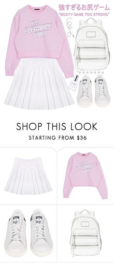 """I wish for world peace and for every girl to have a drake."" by exco ❤ liked on Polyvore featuring adidas, Marc by Marc Jacobs, CLEAN, love, Pink, pastels and organized"