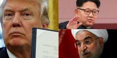 Los 15 momentos de Donald Trump que remecieron al mundo en 2017