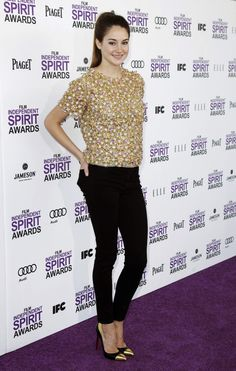 Shailene Woodley  You shouldnt have to want to starve yourself to be her weight. We are who we are and Shailene is the way she is because she is. She has great style and is a great actor.