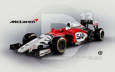 2015 F1 McLaren HONDA concept livery  by DanSanfy13 for Autosprint