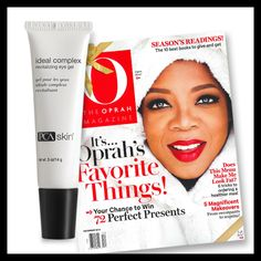 Ideal Complex: Revitalizing Eye Gel is featured in the December issue of O, The Oprah Magazine as one of the best new eye treatments!