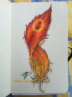Resultado de imagen de phoenix feather