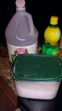 Homemade Fruit and Vegetable Cleaner | practical preparedness