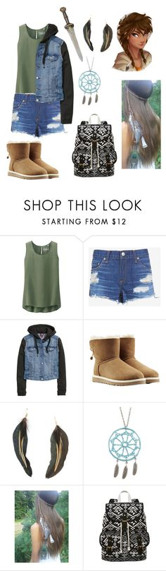 """Piper mclean daughter of Aphrodite"" by gglloyd ❤ liked on Polyvore featuring Uniqlo, rag & bone/JEAN, H&M, UGG Australia, MANGO, Aéropostale and SM New York"