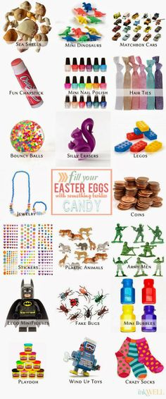 Easter Egg Fillers… Other Than Candy