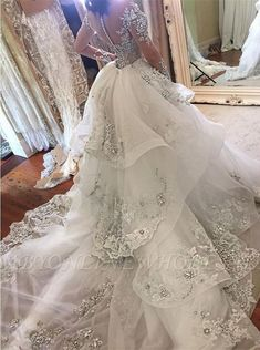 Luxury Wedding Dresses With Sleeves Wedding Dresses A Line Cheap .- Luxury Brautkleider Mit Ärmel Hochzeitskleider A Linie Günstig Modellnummer: Luxury Wedding Dresses With Sleeves A Line Wedding Dresses_Bridal Dresses, Prom Dresses, Evening Dresses - Wedding Dress Train, Luxury Wedding Dress, Applique Wedding Dress, Backless Wedding, Wedding Dress Sleeves, Glamorous Wedding, Long Sleeve Wedding, Wedding Dress Detachable Train, Tent Wedding