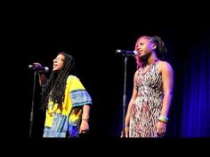 The Best Take Down of Hipster Racism You Will Ever See -- The poets are Kai Davis (left) and Safiya Washington (right) of the Philadelphia Youth Poetry Movement performing at last year's Brave New Voices semi-finals.