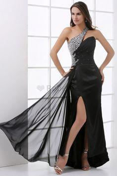 Robe de soirée de bustier ligne a avec sans manches avec cristal de princesse