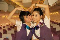 【China】 Xiamen Airlines cabin crew (old uniform) / 厦門航空 客室乗務員 旧制服 【中国】 Face, The Face, Faces, Facial