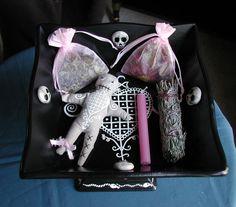 Voodoo Erzulie Handpainted Love Spell Altar Bowl