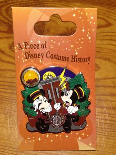 Cast Exclusive - A Piece of Disney Costume History - Tower of Terror - Limited Edition 500