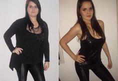 Daniela Ferraz – Antes e depois