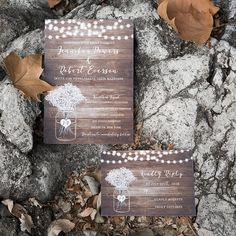 rustic babybreath and stringlights wedding invites Inexpensive Wedding Invitations, Laser Cut Wedding Invitations, Wedding Invitation Cards, Bridal Shower Invitations, Wedding Cards, Invites, Invitation Ideas, Wedding Wishes, Wedding Arch Rustic
