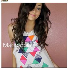 MacBarbie07 aka Bethany Mota is my inspiration I just love her!!:* She is by the far the BEST Youtube beauty guru out there and I would be soo happy if I got to meet her one day <3