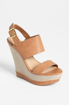 Steve Madden 'Warmthh' Wedge Sandal. Seriously THE most comfortable shoe I own