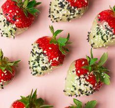 Aardbeien gedoopt in chocolade recept